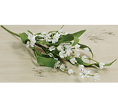 Cream Lily of the Valley Pick