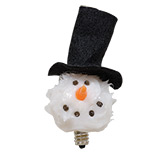 Top Hat Snowball Bulb, 4W