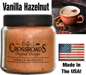 Vanilla Hazelnut Jar Candle, 16oz