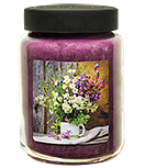 Spring Flowers Jar Candle