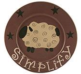 Simplify Sheep Plate