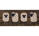 Sheep Magnets, 4/Set
