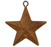 12/Set, Rusty Star Ornaments, 2""