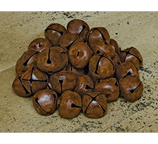Rusty Jingle Bells, 20mm - 48/pkg