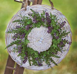 Eucalyptus Lavender Berry Ring