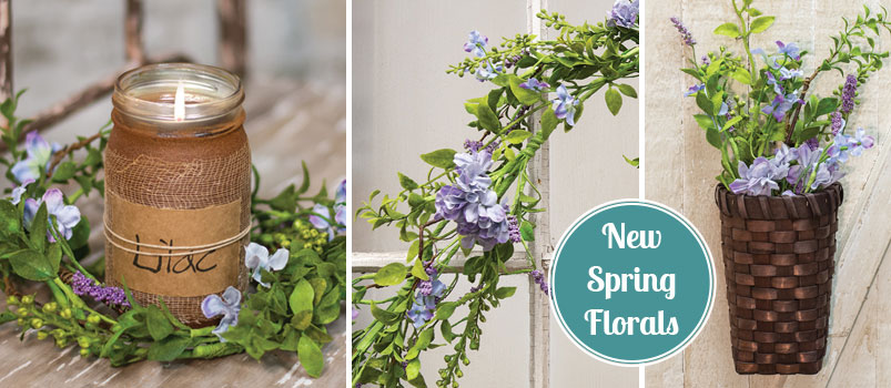Spring Wreaths, Picks and more for your home.